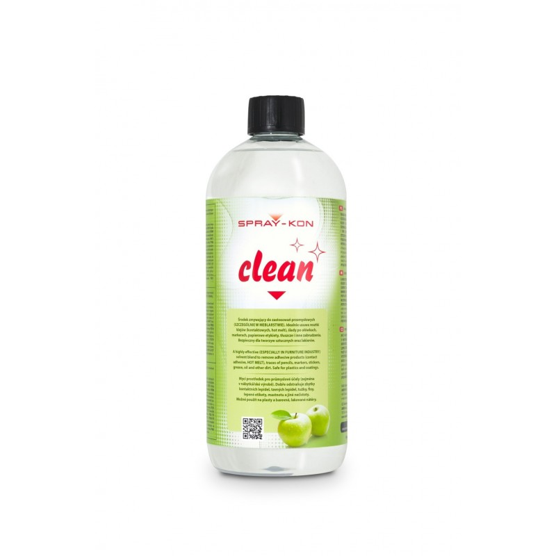 SPRAY-KON CLEAN-SOLVENT IN  RECIPIENT 1L