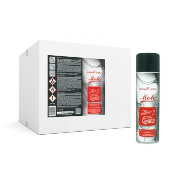 SPRAY-KON MOTO 500ML - ADEZIV CONTACT ÎN TUB  SPRAY - 1 BAX - 12 BUCĂȚI